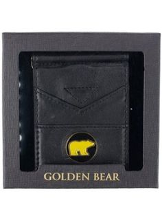 Jack Nicklaus NICKLAUS GOLDEN BEAR LEATHER WALLET : Gifts & Accessories #jacknicklaus #golf #nicklaus #goldenbear