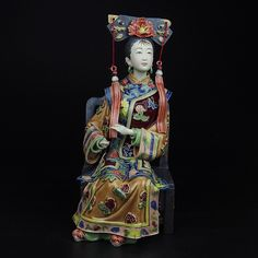 Find More Pottery & Enamel Information about New Decoracion Hogar Ceramic Lady Statue Ornament Christmas Figurine Traditional Chinese Art Collectible Ancient Craft Painted ,High Quality statues collectibles,China sculpture unique Suppliers, Cheap sculpture dog from Handicraftsman on Aliexpress.com