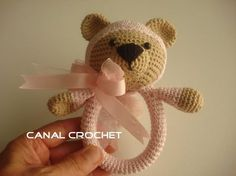 https://www.facebook.com/Canal-crochet-1166416096719575/timeline/ http://amigurumilacion.blogspot.com.es/search?q=sonajero+osito