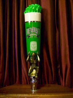 Piels Beer Tap Handle Vintage Shorty Tapper Marker