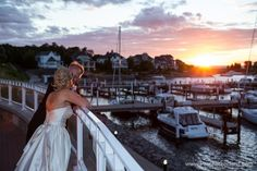 Bay Harbor Yacht Club Wedding Photography on Lake Michigan | Marianne & Bob photo