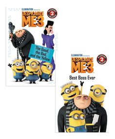 Despicable Me 3 Leveled Reader Set