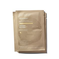 Patchology Smartmud No Mess Mud Masques: Detox Sheet Masks Pack) Asian Makeup Looks, Detox, Skincare Packaging, Homemade Mask, Tumeric Face, Cosmetic Design, Sheet Mask, Bottle Design, Best Face Products