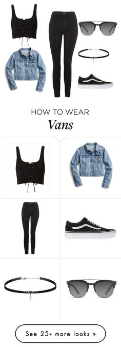 """Untitled #30"" by ivaila02 on Polyvore featuring Topshop, J.Crew, Vans and Dolce&Gabbana"