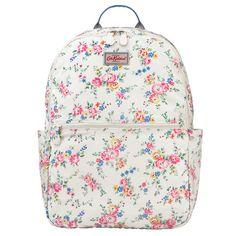 Cath Kidston Bleached flowers foldaway backpack £28