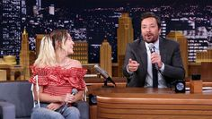 'BiP'  ENTERTAINMENT TV WATCH LIT 7 HOURS AGO Miley Cyrus & Jimmy Fallon Scramble UpFamous Lyrics With Google Translate &It's Everything - We all know how annoying it is when you put words into Google Translate and the result just does NOT make sense. Miley Cyrus and Jimmy Fallon handled this problem in an hilarious way on June 14 when they attempted to sing some strangely translated song lyrics on the 'Tonight Show.'