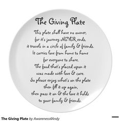 The Giving Plate