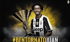 Juan cuadrado rejoins juventus on three year loan deal despite wishes
