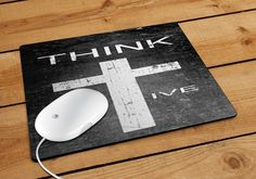 Think Positive Mousepad | Aneend