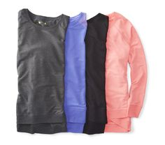 Our Xersion crossover sweatshirts proves why you should never settle for ordinary when you can have extraordinary.