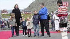 Kronprins Frederik og familien i Narsaq, Alluitsup Paa og Nanortalik