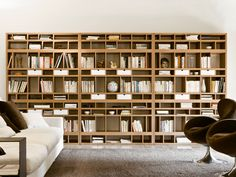 Open bookcase with drawers BABELE by Pacini & Cappellini Bookcase With Drawers, Wooden Bookcase, Living Room Interior, Home Living Room, Drawer Design, Traditional Furniture, Classic House, Furniture Design, Shelves
