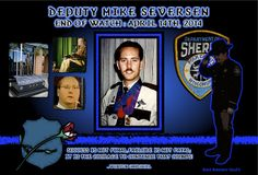 IN MEMORIAM DEPUTY MIKE SEVERSON Sheriff Peter Johnson of the Polk County Sheriff Department sadly reports that Deputy Sheriff Mike Severson, 51, has passed away. Years ago, back on April 19, 1991 Read More: http://www.lawenforcementtoday.com/2014/04/17/in-memoriam-deputy-mike-severson/
