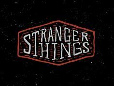 Stranger Things by Andrew Berkemeyer #Design Popular #Dribbble #shots