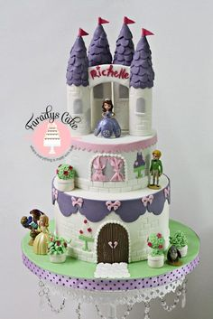 http://pixgood.com/sofia-the-first-castle-cake.html