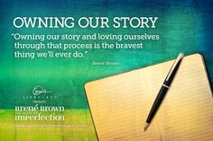#OLCBreneCourse Brené Brown