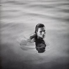 Kate Moss by Mario Sorrenti is quite nice to look at.