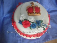Coolest Diamond Jubilee Cake... This website is the Pinterest of birthday cake ideas