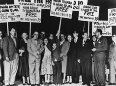 """October 20, 1947: """"The House Un-American Activities Committee (HUAC) Began Its Probe That Resulted in The Hollywood Blacklist"""""""
