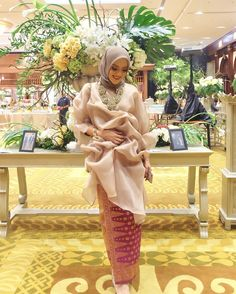 "1,646 Likes, 28 Comments - Athieqah Asy-Syahidah (@tiqasya) on Instagram: ""#bridesmaid on duty 👰🏼 Thank you kak @amandahartantobatik for the dress 💖😘"""
