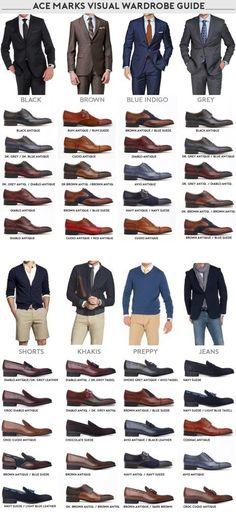 تناسب الوان الحذاء