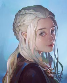 ArtStation - Daenerys Targaryen, Twomix √