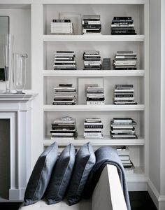 white, black and grey. this is the colour range in creative director and brand consultant todd waterbury's home.