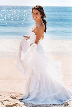 Caribbean Beach Wedding Dresses