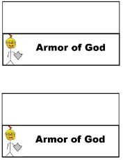 Armour of god bible lessons