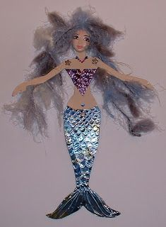 mermaid paper dolls   Mermaid Paper Doll