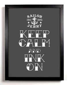 Keep Calm And Ink On by KeepCalmAndStayGold - OH YEAH !!!