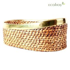 This Handmade Cane Fruit cum Bread Basket is a multipurpose storage device. As its natural & eco-friendly, go ahead store your fruits and vegetables as well. Explore more cane products at ecohoy.com