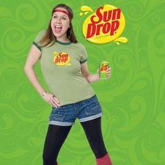 Back for another #TBT: Sun Drop was rescued from obscurity with this 30 second promotional video that ran straight for 3 months and is still popular today #sundrop #dropitlikeitshot Thanks MTV Scratch for saving the drop!!