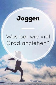 Was zieht man bei welchen Temperaturen zum joggen am besten an? Du denkst, das ist gar nicht so einfach? Ist es doch! In diesem Artikel gebe ich dir Tipps, wie es am besten gelingt.