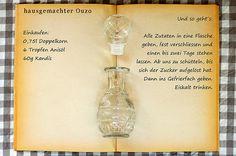 Einkaufszettel Ouzo by Glasgeflüster | Rezept/recipe: glasge… | Flickr