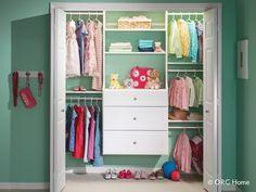 Kids Closet Organizers   Organized Spaces of Minot - Minot, ND