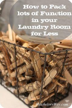 Laundry Room Reveal or How to Pack Lots of Function into Your Laundry Room for Less. Good ideas for our laundry closet. Laundry Nook, Laundry Room Cabinets, Laundry Decor, Laundry Closet, Small Laundry Rooms, Laundry Room Organization, Laundry Room Design, Diy Cabinets, Organizing