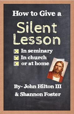 Really great ideas on how to give a silent lesson!  This is great for any teacher or parent! Fhe Lessons, Object Lessons, School Lessons, Scripture Study, Scripture Journal, Lds Seminary, Young Women Lessons, Lds Youth, Lds Church