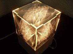 ONO - Light square - 10x10x10cm by Ramiro Pedraza from TRESMORENOS