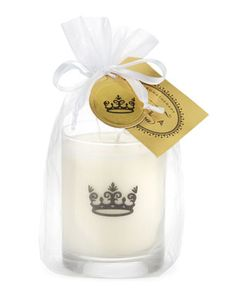 White Linen Crown Candle by Xela Aroma at Last Call by Neiman Marcus.