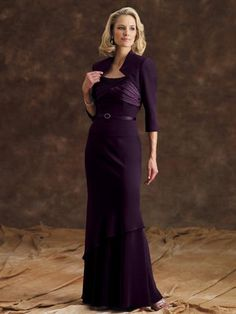 Purple Mother of The Bride Dress; this would be perfect!