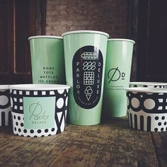 Since 2001 Jay Fletcher has been living & working in Charleston, South Carolina as a graphic designer and illustrator. Food Packaging Design, Brand Packaging, Branding Design, Branding Ideas, Logo Ideas, Paper Cup Design, Cafe Cup, Cafe Branding, Restaurant Branding