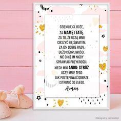 Plakat z modlitwą.   #plakat #prezent #na #Ścianę #grafika #obrazek #dla #dziecka #pokój #pamiątka #handmade #poster #baby #pokojdziecka #memorabli #babyroom #plakatydladzieci #modlitwa #anielebozy Origami, Artist, Diy, Decor, Decoration, Bricolage, Artists, Origami Paper, Do It Yourself