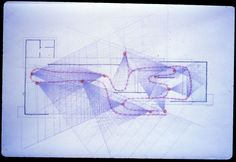 Barcelona Pavilion Study Drawings and an Interview by Paul Rudolph - Hidden Architecture Architecture Concept Drawings, Pavilion Architecture, Japanese Architecture, Modern Architecture House, Sustainable Architecture, Residential Architecture, Landscape Architecture, Interior Architecture, Interior Design