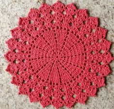 New crochet patterns filet products Ideas Crochet Mat, Crochet Dollies, Crochet Mandala, Crochet Round, Crochet Home, Crochet Patterns Filet, Filet Crochet, Crochet Designs, Crochet Stitches