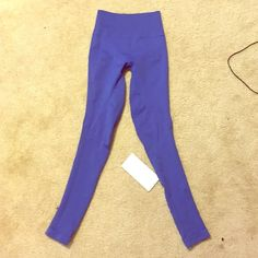 NWT Zone In Tight Lulus Blue Lulus zone in tight. New with tags. Perfect conditions. No trades! lululemon athletica Pants Leggings