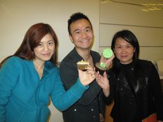 Associates enjoying delectable celebratory cupcakes for Earth Month at our Far East office!