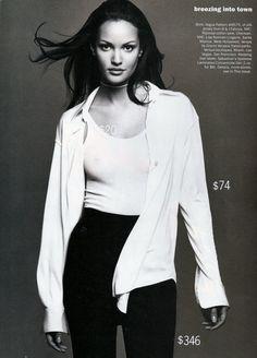Vogue Editorial April 1993 - Claudia Mason by Patrik Andersson