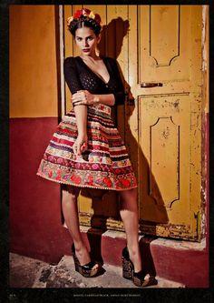 inspired by Frida   Lena Hoschek Spring/Summer 2013
