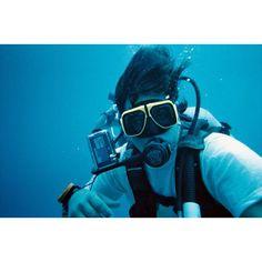 Brice diving Cayman Islands